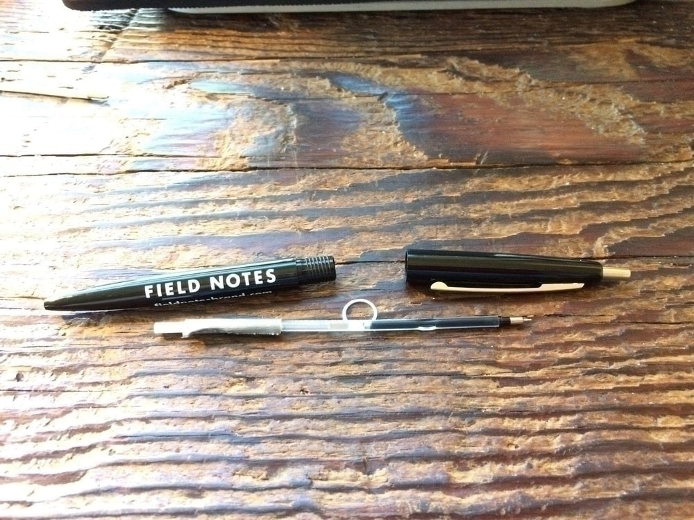 Pilot Hi-Tec-C Slim Knock hacked for Bic Clic (submitted by Chase Nordengren)